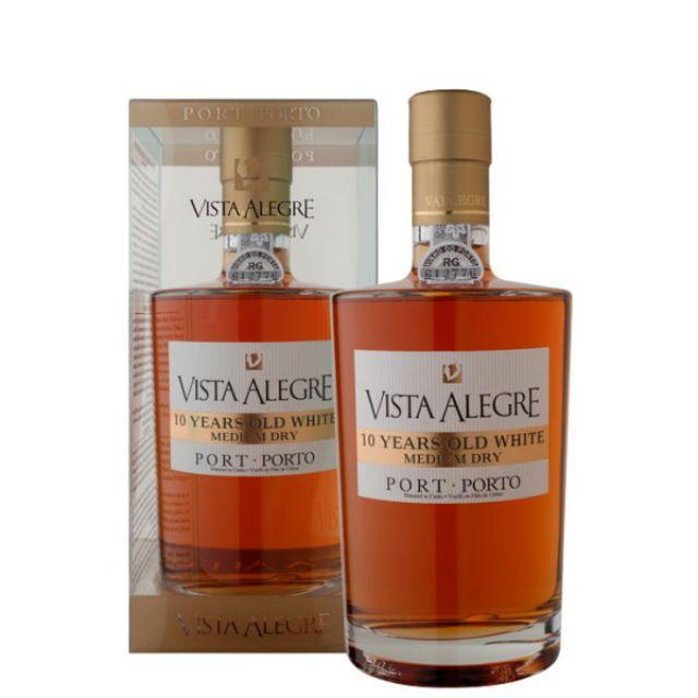Vista Alegre 10 years Old White - med. dry - DOC