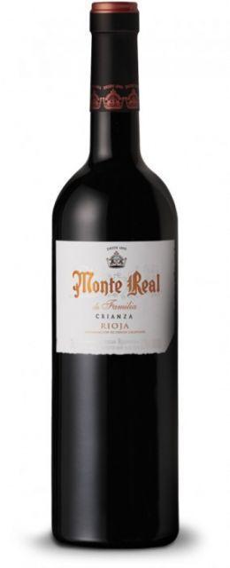 Monte Real Crianza Fam. 2014 - 0,75 lt.