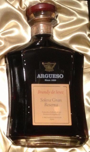 Brandy Argüeso Solera Gran Reserva