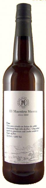 Sherry: Fino (muy seco) - 0,375 lt.