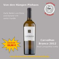 Deal of the day: Carvalhas Branco 2012 - 0,75 lt.