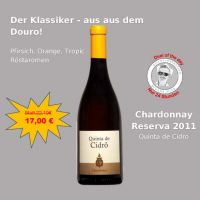 Deal of the day: Quinta de Cidro Chardonnay Reserva 2011 - 0,75 lt.