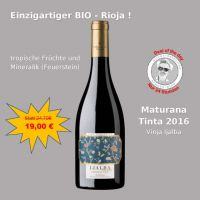 Deal of the Day: Ijalba Maturana Tinta BIO 2016 - 0,75 lt.